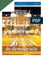 Santa Fe en 30 años de democracia