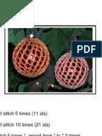 Lace Ornament Cover