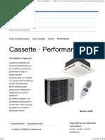 Carrier® Performance _ Cassette _ CC AIRES s.a.s. - Aires Acondicionados y Sistemas de Refrigeración