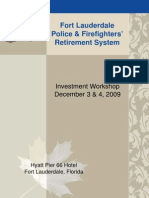 Fort Lauderdale Police and Fire Pension Board Investment Workshop 2009