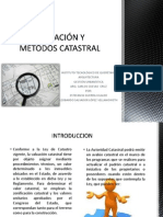 VALUACIÓN Y MÉTODOS CATASTRAL.pdf