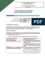Examen 2014 Geografia Hamana de Crispin Velasquez