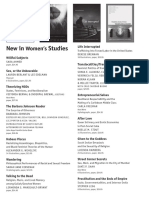 Duke University Press Program Ad for the National Women's Studies Association conference 2014