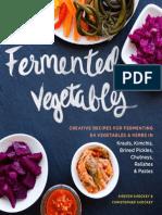 A Sneak Peek at Fermented Vegetables