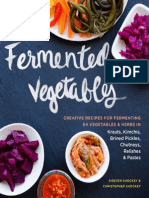 A Sneak Peek at Fermented Vegetables
