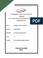 Trabajo de Desarrollo de La Sociedad II (Investigacion)