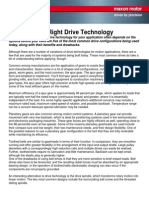 Choosing the Right Drive Technology
