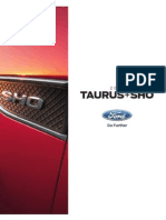 2015 Ford Taurus Brochure