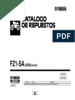Fz1 Fazer Abs 2008