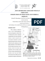 Allmendinger, Yañez, Cembrano 2006 GPS Strain Rates Numerical Modeling Northern Chile