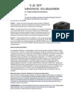 Manual Maquina de Ultrasonido