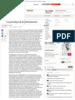 Beck 05 12 2002 - La Paradoja de La Globalización