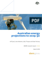 Australia Energy Projection