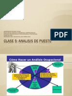 Clase 5 - ARH El Analisis de Puesto2