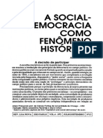 Adam Pzeworski - A Social-Democracia Como Fenômeno Histórico