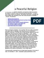 Myth 7 Islam is a Peaceful Religion