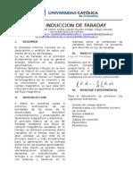 Laboratorio Ley de Faraday Electro