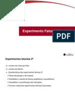 20 - Experimento Fatorial Completo