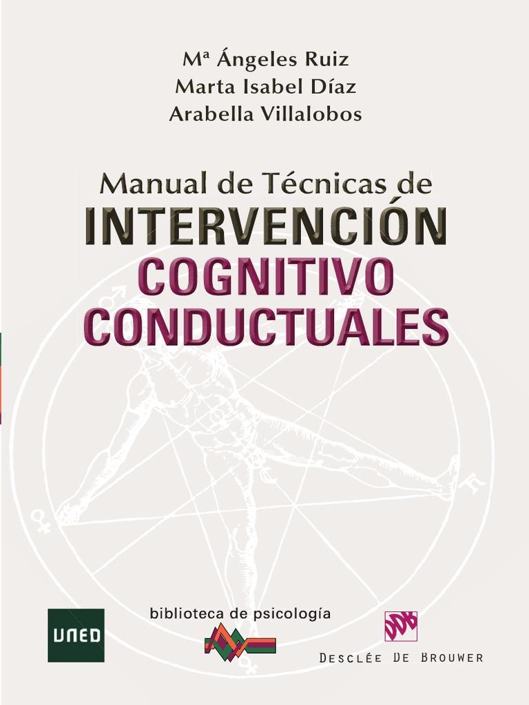 Manual de t cnicas de intervenci n cognitiva conductuales for El gran manual del cocinero pdf