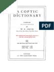 Coptic Dictionary (W Crum)