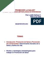 Como Promover La Salud Inta 2012