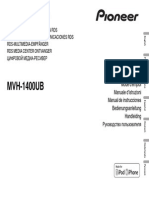 Pioneer MVH-1400UB Owner's Manual En Fr It Es de Nl Ru