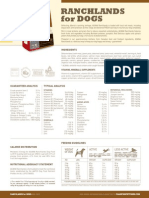 Acana Ranchlands FactSheet-WebOnly June152012