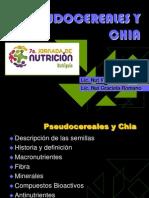 3- Pseudocereales y Chia