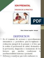 Atencion Prenatal 2013