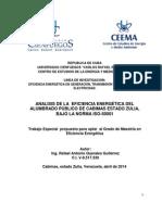 Anteproyecto de Tesis Maestria de Eficiencia Energética Final