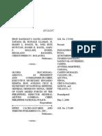 David, Et Al. vs President Gloria Macapagal-Arroyo, Et. Al