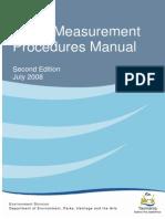 Noise Measurement Procedures Manual 2008