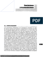 Arellano Et Al. (2010). Conclusiones y Recomendaciones (1)