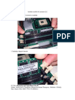 Instalare module de memorie