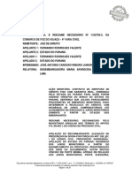 Acordao-1182709300 TJPR - Prescrição 5 Anos