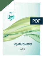Corporate Presentation Light - July 2014