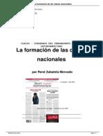 La Formacion de Clases (Rene Zabaleta)