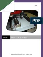 Projeto CNC 3 Eixos - PUCCRS- Rodrigo Krug