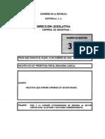 Iniciativa de Ley de Notariado