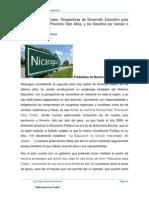 Perspectivas de Desarrollo Educativo para Nicaragua en los Próximos Diez Años.docx