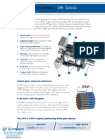 Gam Inline Gear Reducers Catalog