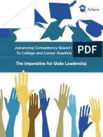 Advancing Competency-Based Pathways To College and Career Readiness Series