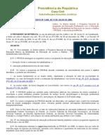 Decreto Nº 5840
