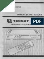 manual receptor tecsat t3100 plus