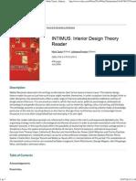 Wiley_ INTIMUS_ Interior Design Theory Reader - Mark Taylor, Julieanna Preston