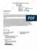 FEMA Letter Of Map Revision (December 19, 2006)