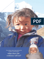Assessing Targeting Options for Nepal's Social Grants What Does the Evidence Tell Us DFID Nepal