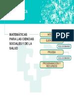 Matematicas Cs Salud