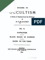 Blavatsky Studies in Occultism Volume 2