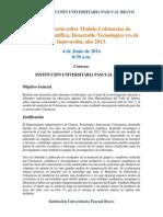 Presentación- Conversatorio Sobre Modelo Colciencias de Medición Científica